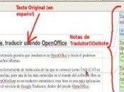 Cómo traducir textos LibreOffice OpenOffice