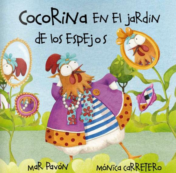 Leer Cuentos en linea. Cocorina en el Jardin de los Espejos