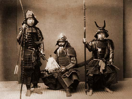 Katanas, armaduras y otras espadas del guerrero samurái