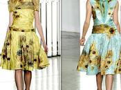 Rodarte: Vestidos souvenirs Gogh
