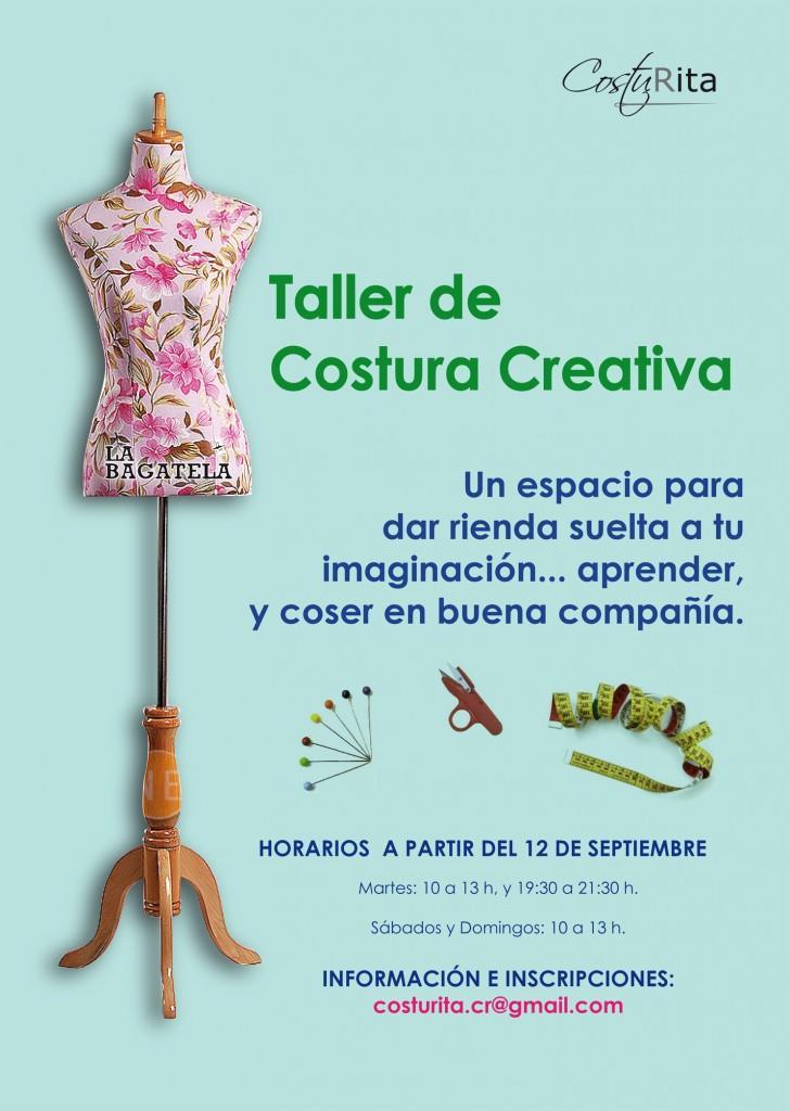 Taller creativo de costura - Paperblog