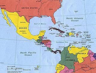 Distribución geográfica del Guppy.