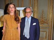 """Casiraghi, Olivia Wilde, Leigh Lezark muchos famosos presentación """"Signature"""" Tod's París"""