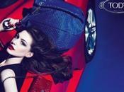 "Anne Hathaway imagen colección ""Signature"" Tod's"
