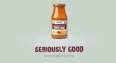 Salsa Heinz con mucho queso