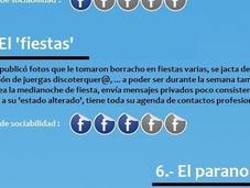diez perfiles usuarios facebook (#infografia)