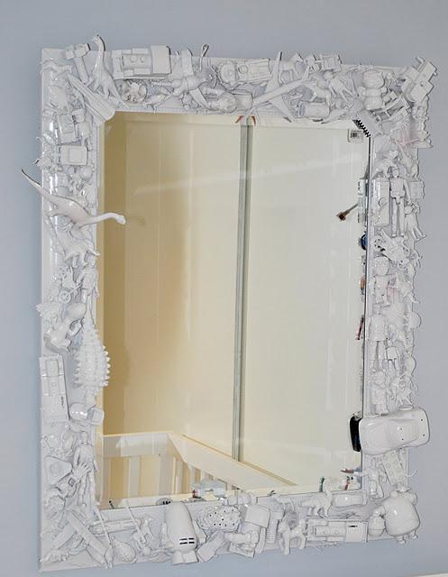 Decoración low cost: decorar un espejo infantil - Paperblog