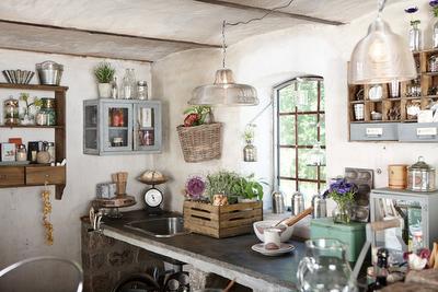 cocinas rusticas y de campo with revistas de decoracion rustica