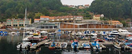Equipamiento del puerto de Beluso