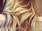 Trending Topic: Rainbow hair