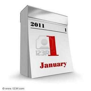 Calendarios sin días en rojo