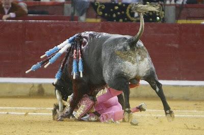 Cornada Juan Jose Padilla torero