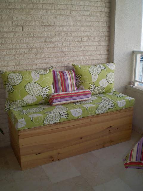 T preguntas ideas para pintar o decorar el ba l sof de for Como hacer una terraza techada