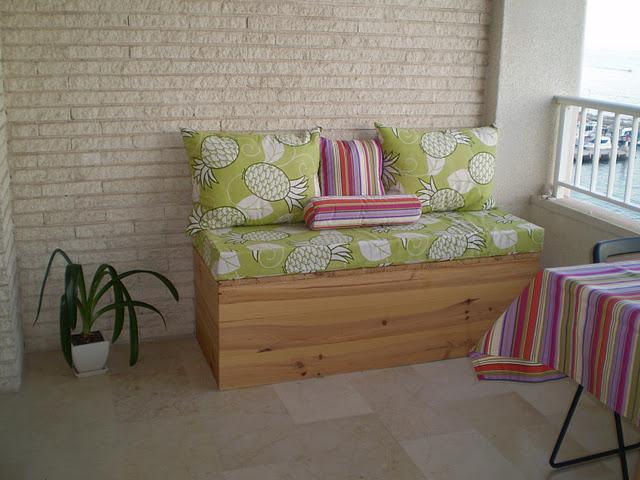 T preguntas ideas para pintar o decorar el ba l sof de for Decorar mi terraza