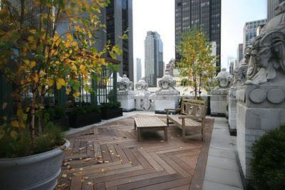Una terraza urbana llena de glamour paperblog for Terrazas urbanas diseno