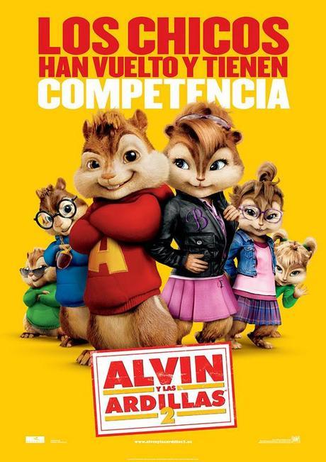 Alvin y las ardillas 2 (Betty Thomas, 2.009)