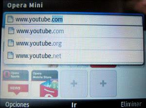 Opera Mini 6 Samsung chat 335