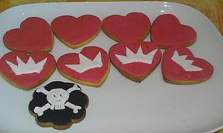 Galletas para princesas y piratas