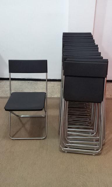 Donaci n de nuevas sillas para la sala multiusos paperblog for Sillas para la sala