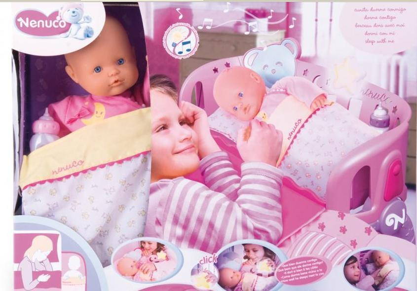 Nenuco cuna duerme conmigo: El muñeco que promueve el colecho.