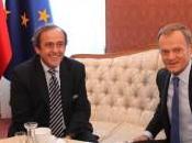 Michel Platini visita Polonia