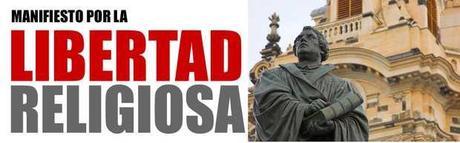 Manifiesto de FEREDE por la Libertad Religiosa en España