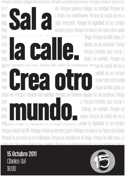 SAL A LA CALLE. CREA OTRO MUNDO: 16 motivosPosted:1...