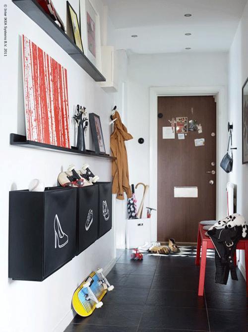 Ikea Poang Chair Slipcover Pattern ~ Otro recibidor con los famosos zapateros trones de Ikea  Paperblog