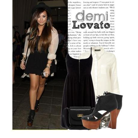 Dress like Demi Lovato