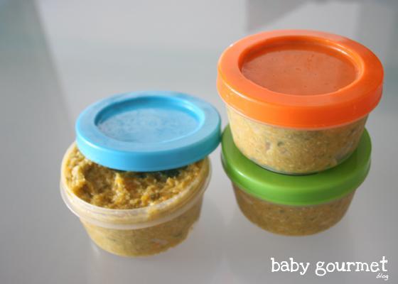 Papilla de verduras y pollo papillas beb s a partir de 6 7 meses paperblog - Papillas para bebes de 6 meses ...