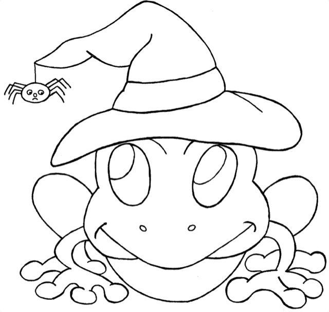 Halloween dibujos para colorear - Paperblog