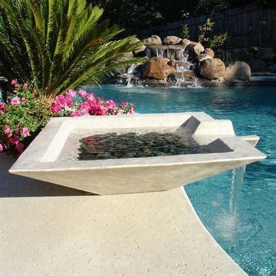 Fuentes minimalistas de cscp paperblog - Fuentes para piscinas ...