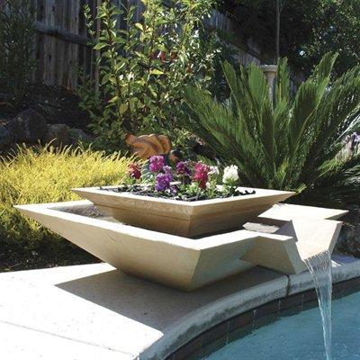Fuentes minimalistas de cscp paperblog - Fuentes minimalistas para jardin ...