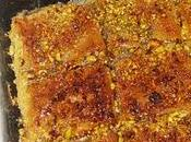 Baklava pistachos