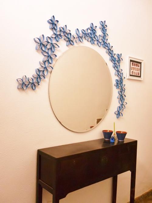 Concurso diy x4duros 39 11 decoraci n con cart n de papel - Decoracion con carton de papel higienico ...