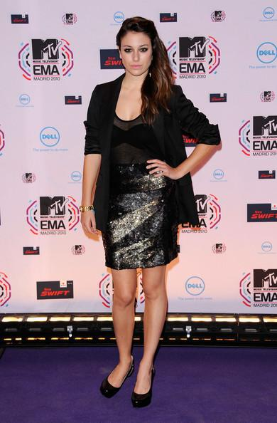 Blanca Suarez - MTV Europe Music Awards 2010 - Arrivals