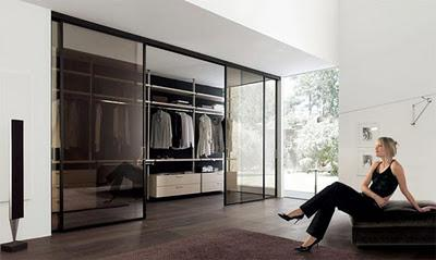 Walk in closet modernos paperblog for Banos modernos con walking closet
