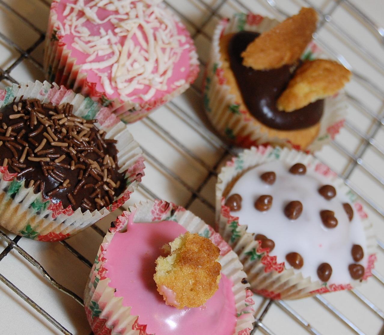 Cupcakes (receta sencilla)