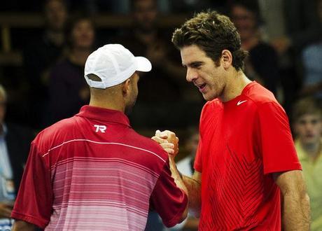 ATP de Estocolmo: Del Potro cayó ante Blake en su debut