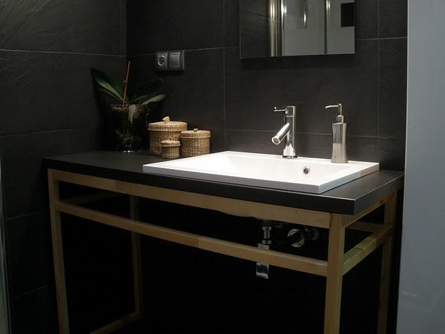 Muebles De Baño Nombres: DIY x4duros'11: Ikea Hack, el mueble de baño de Constanza – Paperblog