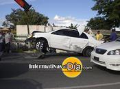 Acaba ocurrir terrible accidente carretera Duarte, proximo Moca