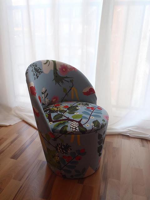 Concurso diy x4duros 39 11 la butaca descalzadora retapizada - Como tapizar una butaca ...