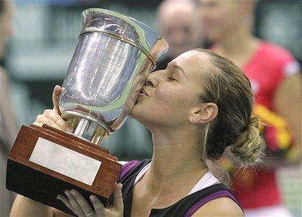 Moscú: Cibulkova ganó su primer título como profesional