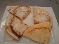 Crêpes Rellenos de Manzana