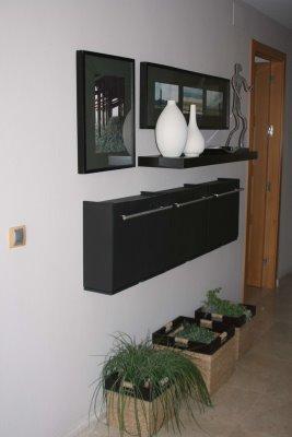Decoracion mueble sofa zapateros tela for Mueble zapatero poco fondo