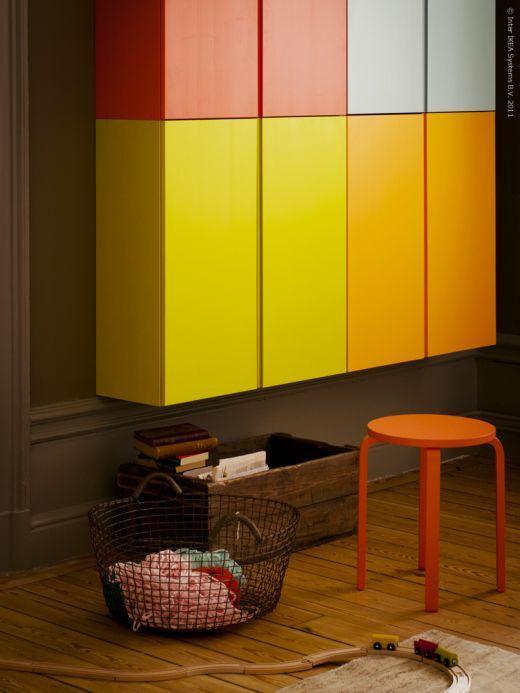 Adesivo Mesversario Para Body ~ Ikea Hack Armarios Ivar de colores para salón o espacio