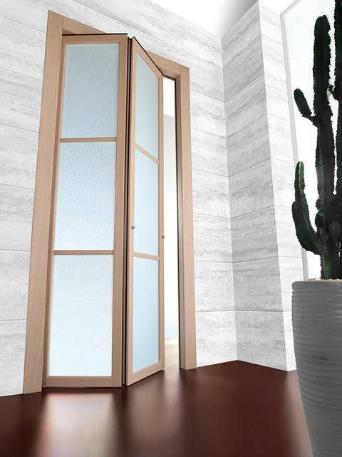 Puertas plegables en decoraci n paperblog - Puertas de madera plegables ...