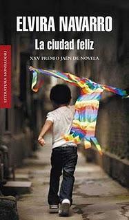 Elvira Navarro La ciudad feliz portada libro