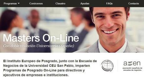 Masters On-Line Instituto Europeo de Posgrado