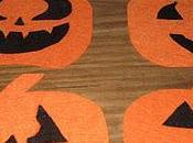 calabazas halloween fieltro